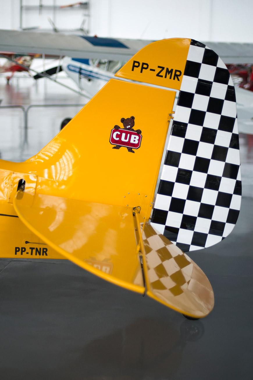 """Piper J-3 CUB"" em f/1.4 1/750 ISO800."