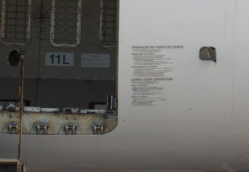 Crop 100%, aviso no avião? Check!