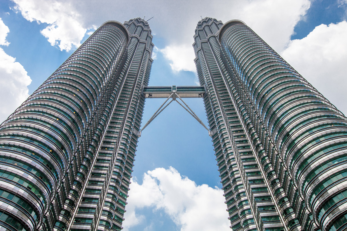 """Petronas Towers"" em f/10 1/250 ISO100 @ 25mm."