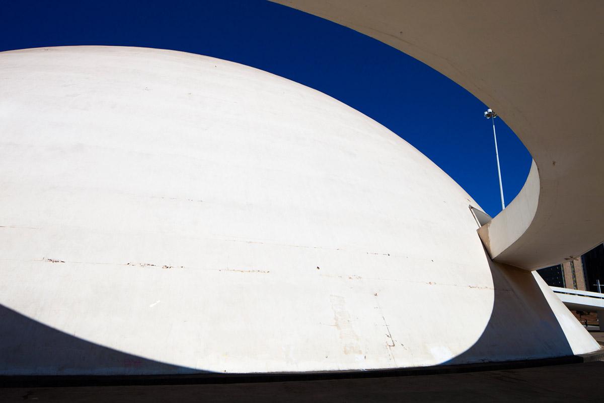 """""""Museu Nacional da República III"""" em f/8 1/1250 ISO160."""