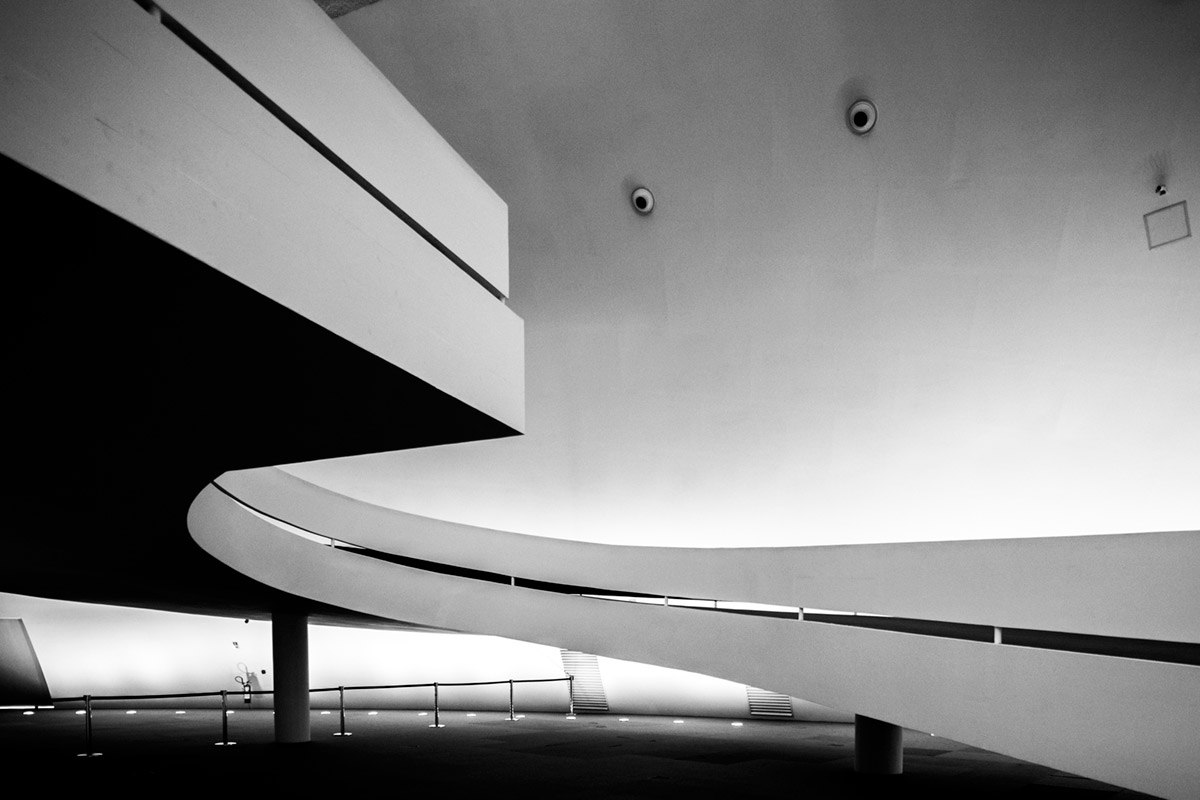 """""""Museu Nacional da República"""" com a EOS 5D Mark II em f/4 1/50 ISO800."""
