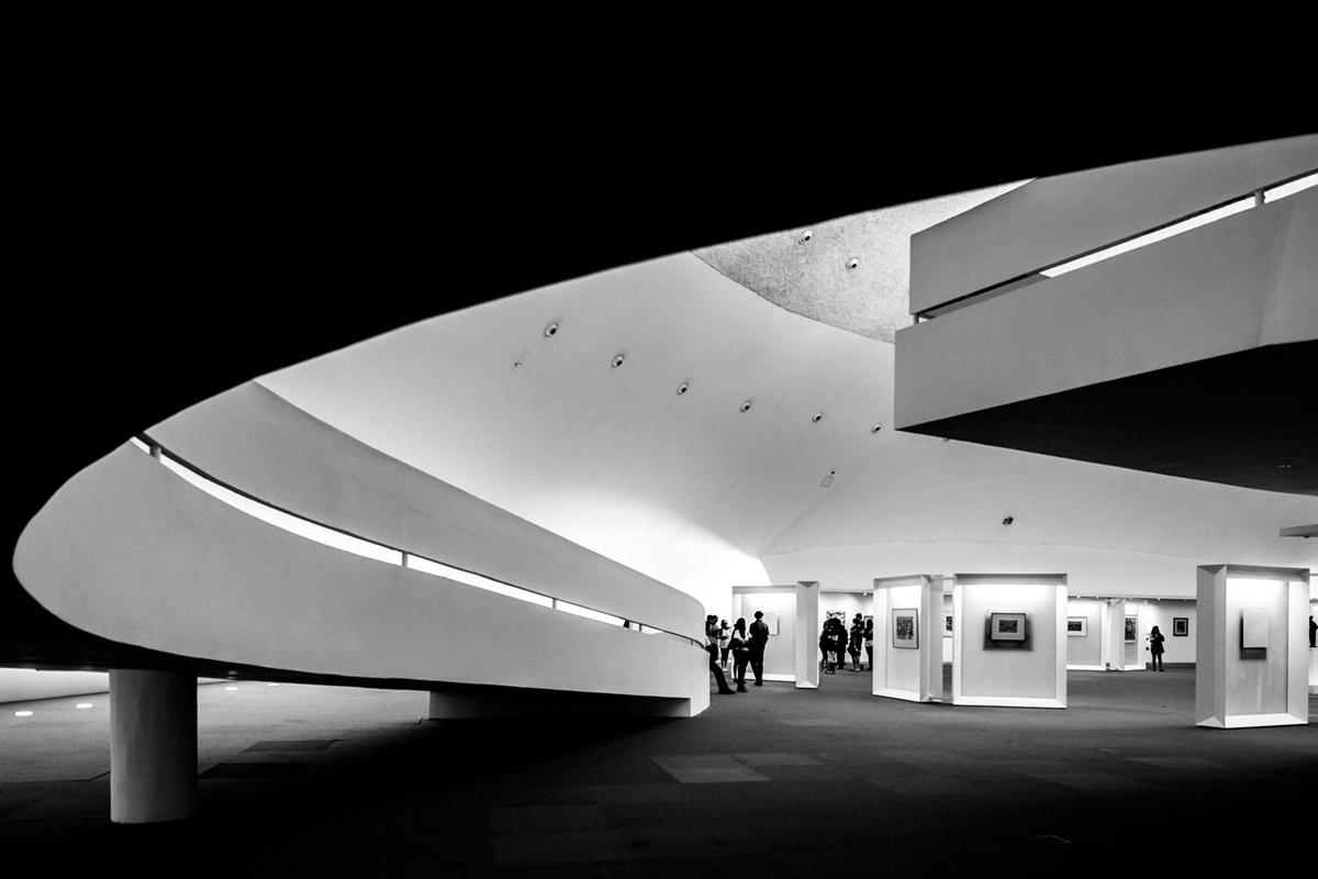 """""""Museu Nacional da República II"""" em f/4 1/20 ISO800."""