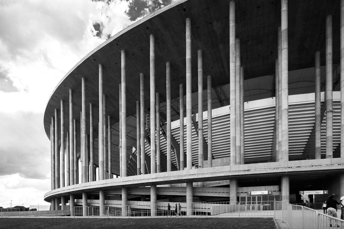 """""""Estádio Mané Garrincha"""" em f/5.6 1/250 ISO160."""
