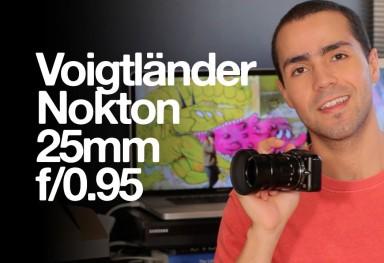 Voigtländer Nokton 25mm f/0.95