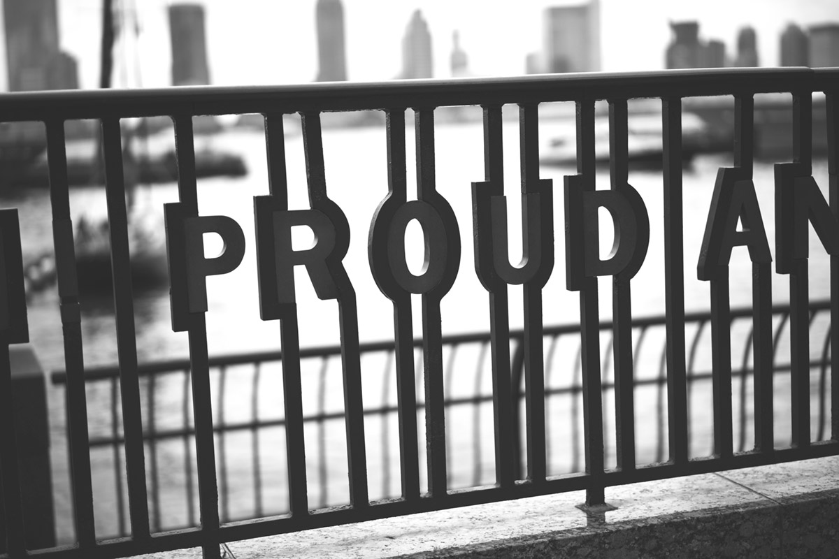 """PROUD"" at f/1.8 1/1250 ISO100."