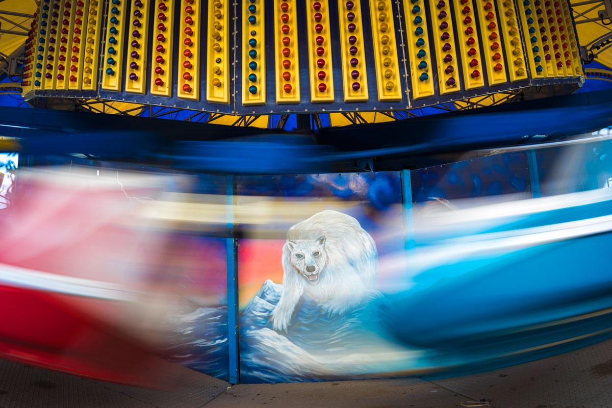 """""""Polar Bear"""" em f/8 1/15 ISO50; já vimos essa foto com a Nikon D800E + AF-S 14-24mm f/2.8G."""