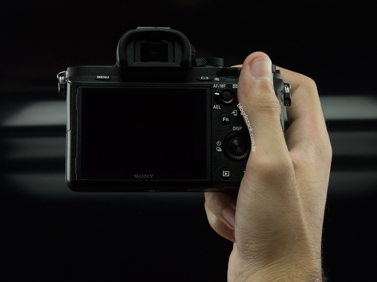 Sony A7II hands