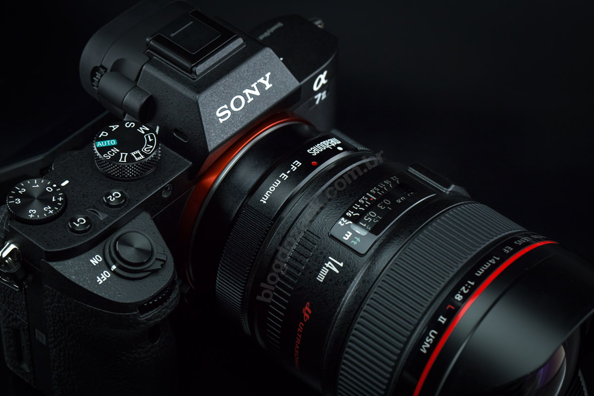 Sony A7II metabones smart adapter IV