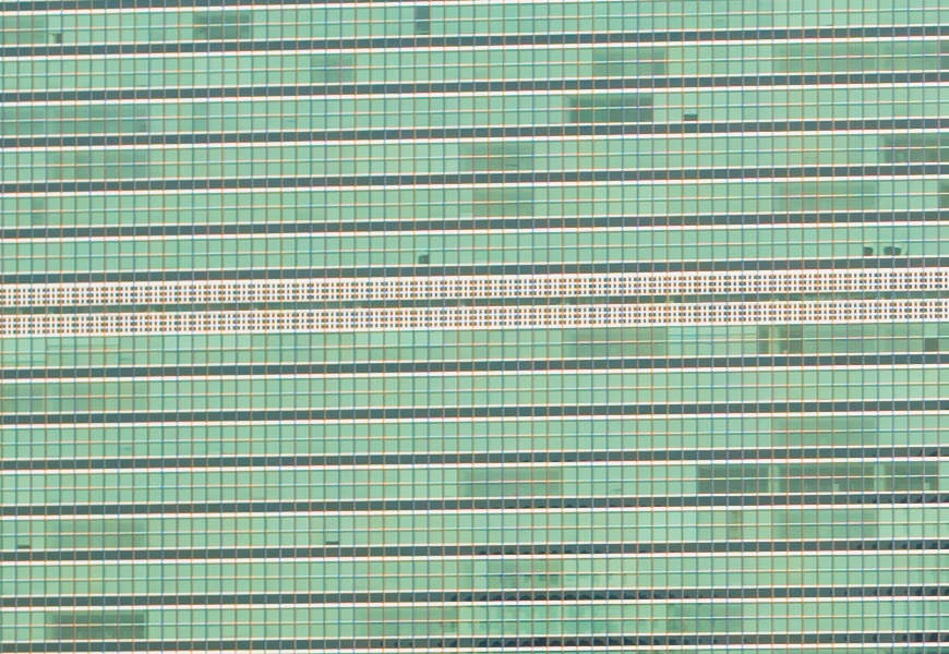 Crop 100%, resolução típica das primes de grande abertura em f/8.
