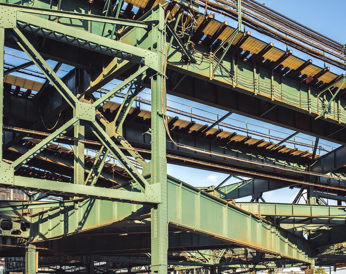 """Steel Tracks"" em f/8 1/200 ISO200."