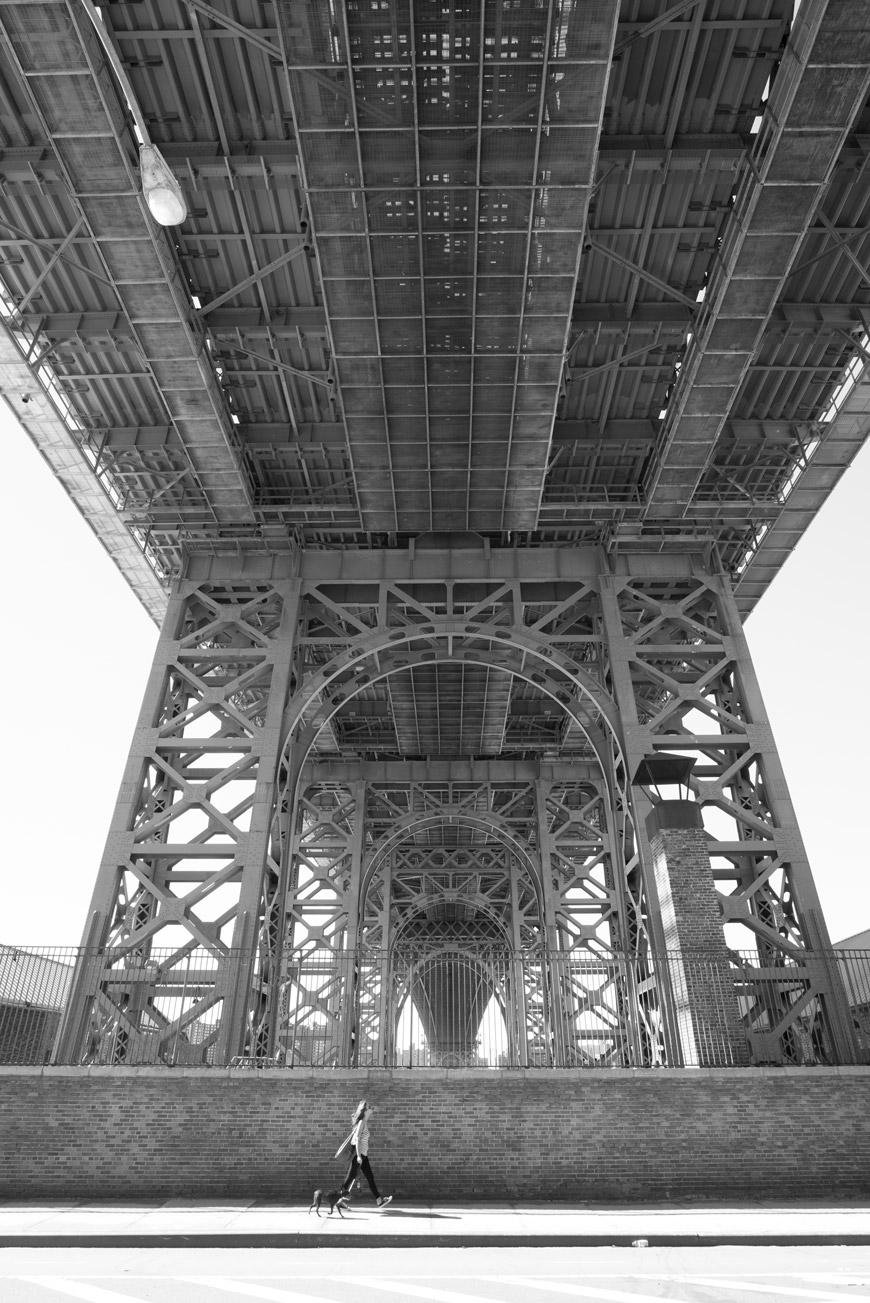 """Williamsburg Bridge II"" em f/11 1/200 ISO1250; distorção geométrica invisível."