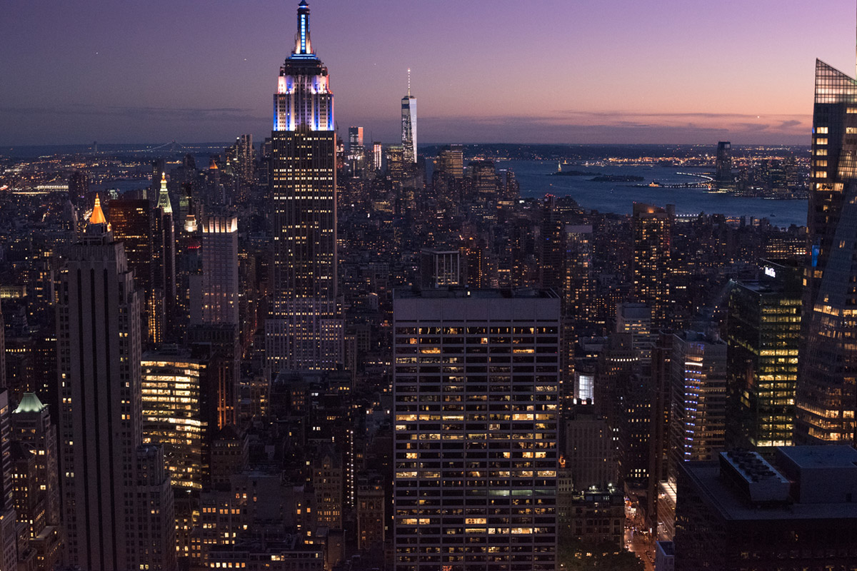 """Empire State"" em f/4 1/200 ISO11400."