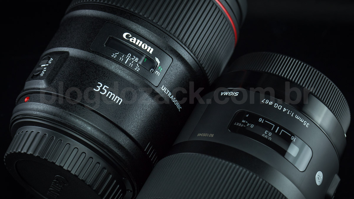 Canon EF 35mm f/1.4L II USM Sigma Art DG HSM