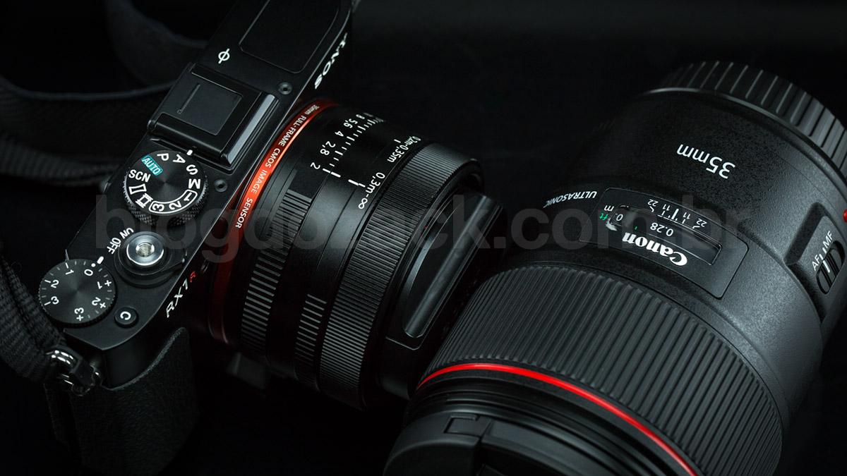 Canon EF 35mm f/1.4L II USM Sony RX1R