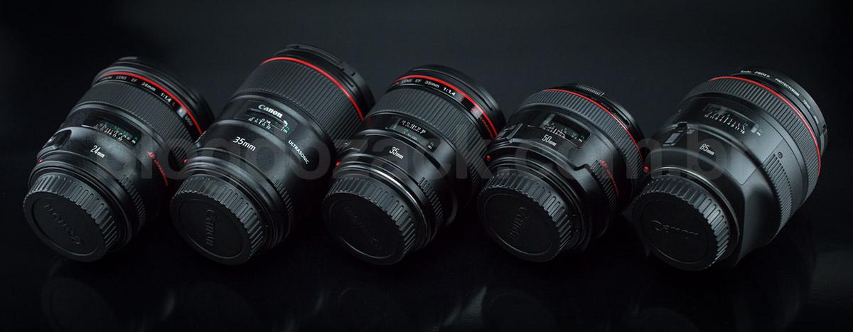 Canon L Series lens