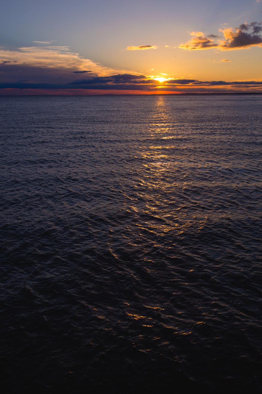 """""""Sunset"""" em f/8 1/200 ISO100; sem problemas com flare."""