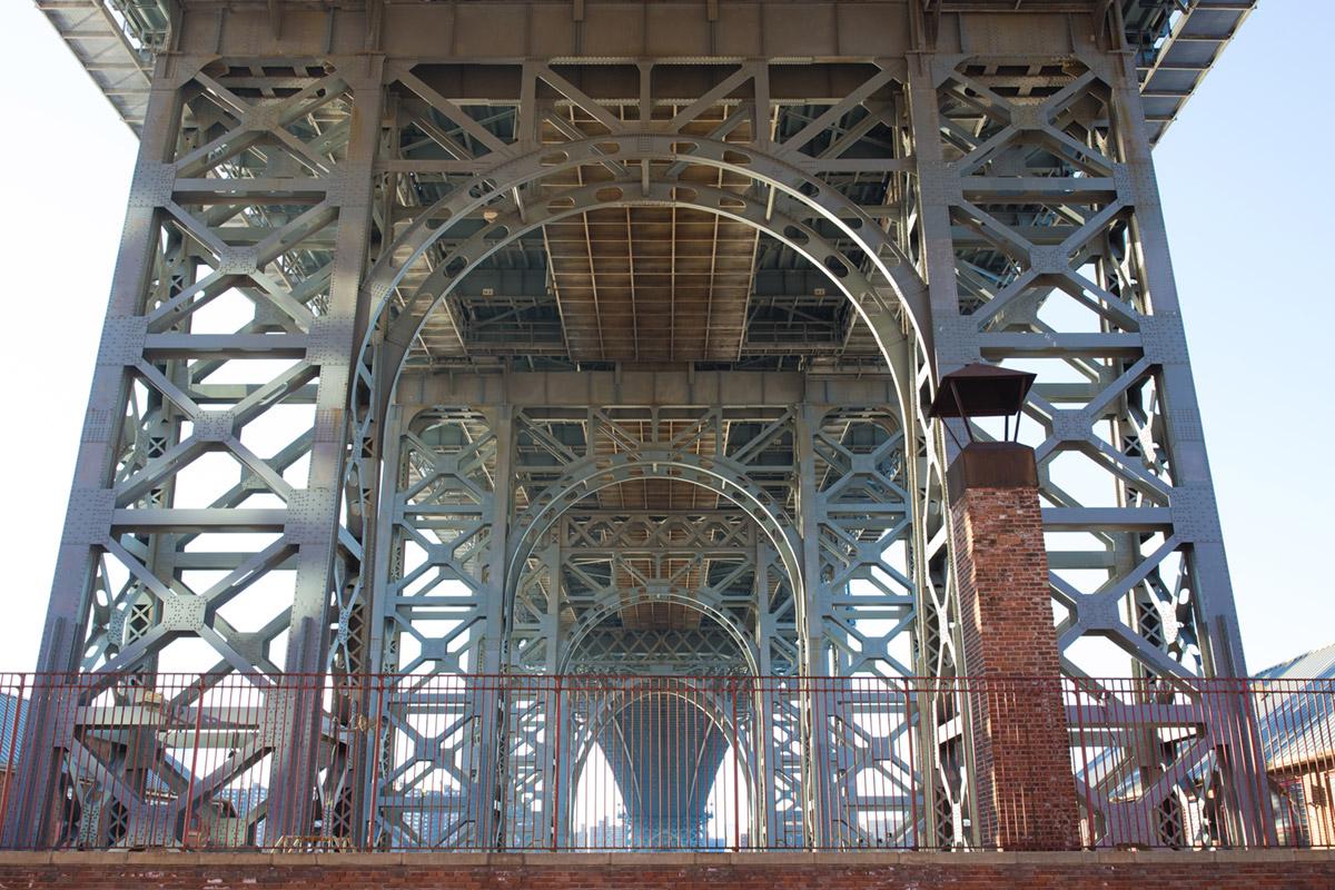 """""""Williamsburg Bridge"""" em f/8 1/125 ISO400."""