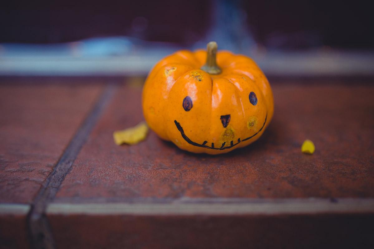 """""""Halloween"""" em f/1.4 1/160 ISO640; distância mínima de foco."""