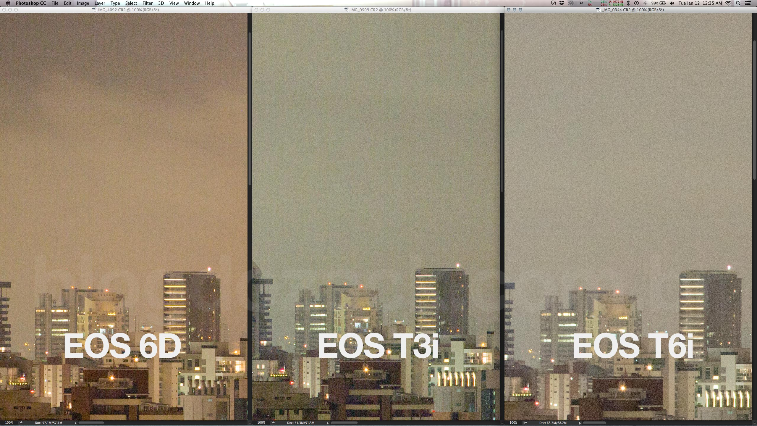 And a cleaner output than even the ageing full frame EOS 6D.