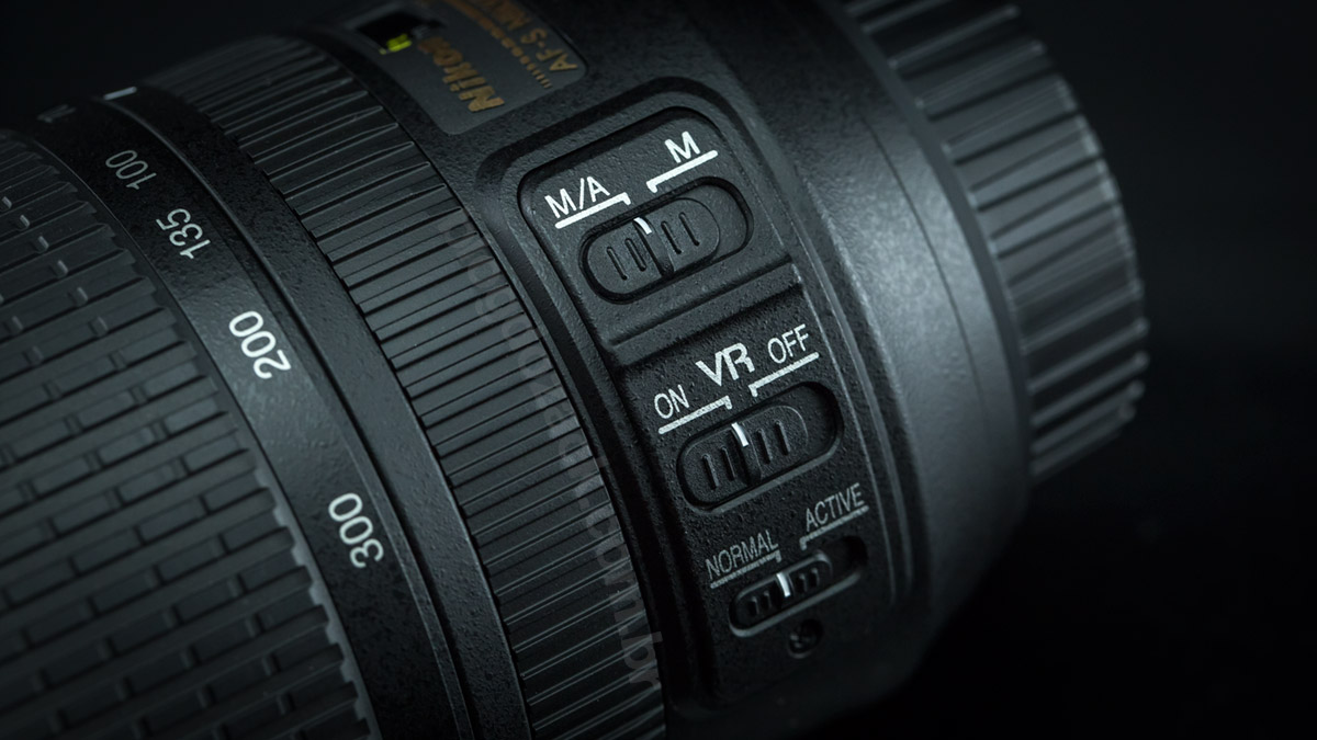 Nikon AF-S Nikkor 70-300mm f/4.5-5.6 IF ED VR