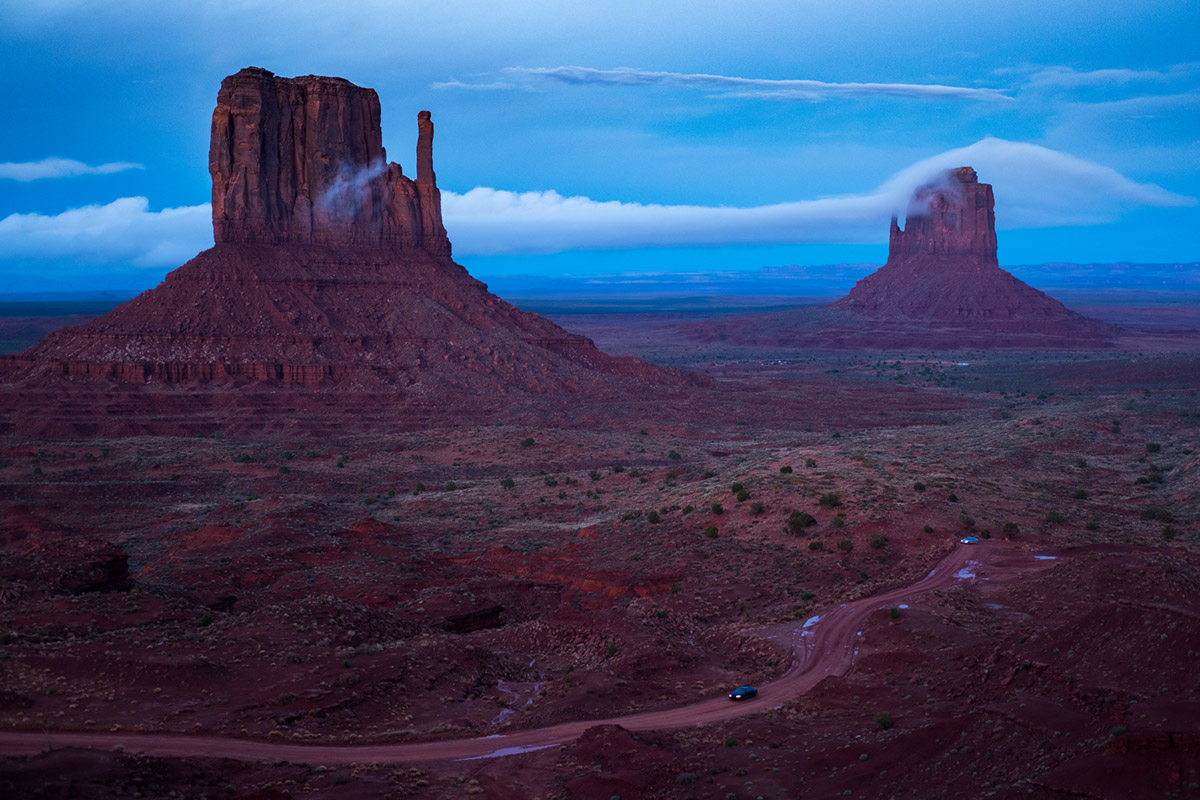 """Monument Valley II"" at f/2 1/60 ISO400."