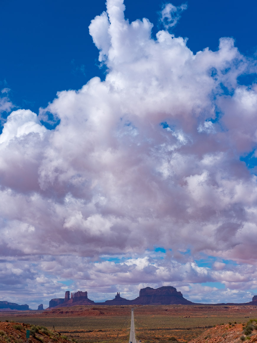 """Monument Valley III"" at f/5.6 1/2000 ISO200."