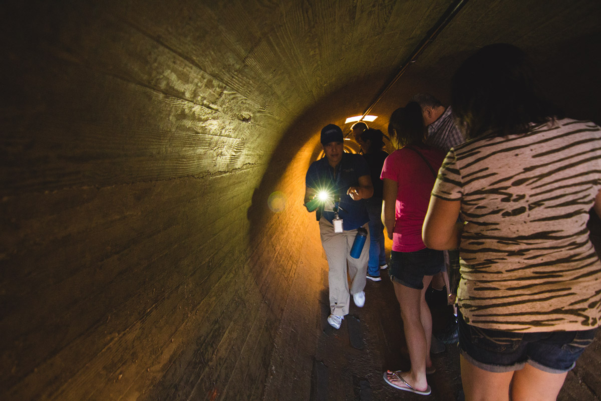 """Túnel II"" at f/2.8 1/30 ISO2000 @ 11mm; estrelas na abertura máxima, nunca tinha visto antes."