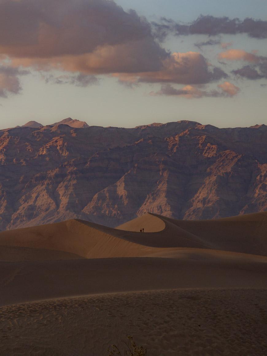 """Mesquite Sand Dunes"" em 1/800 ISO200."