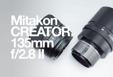 Mitakon CREATOR 135mm f/2.8