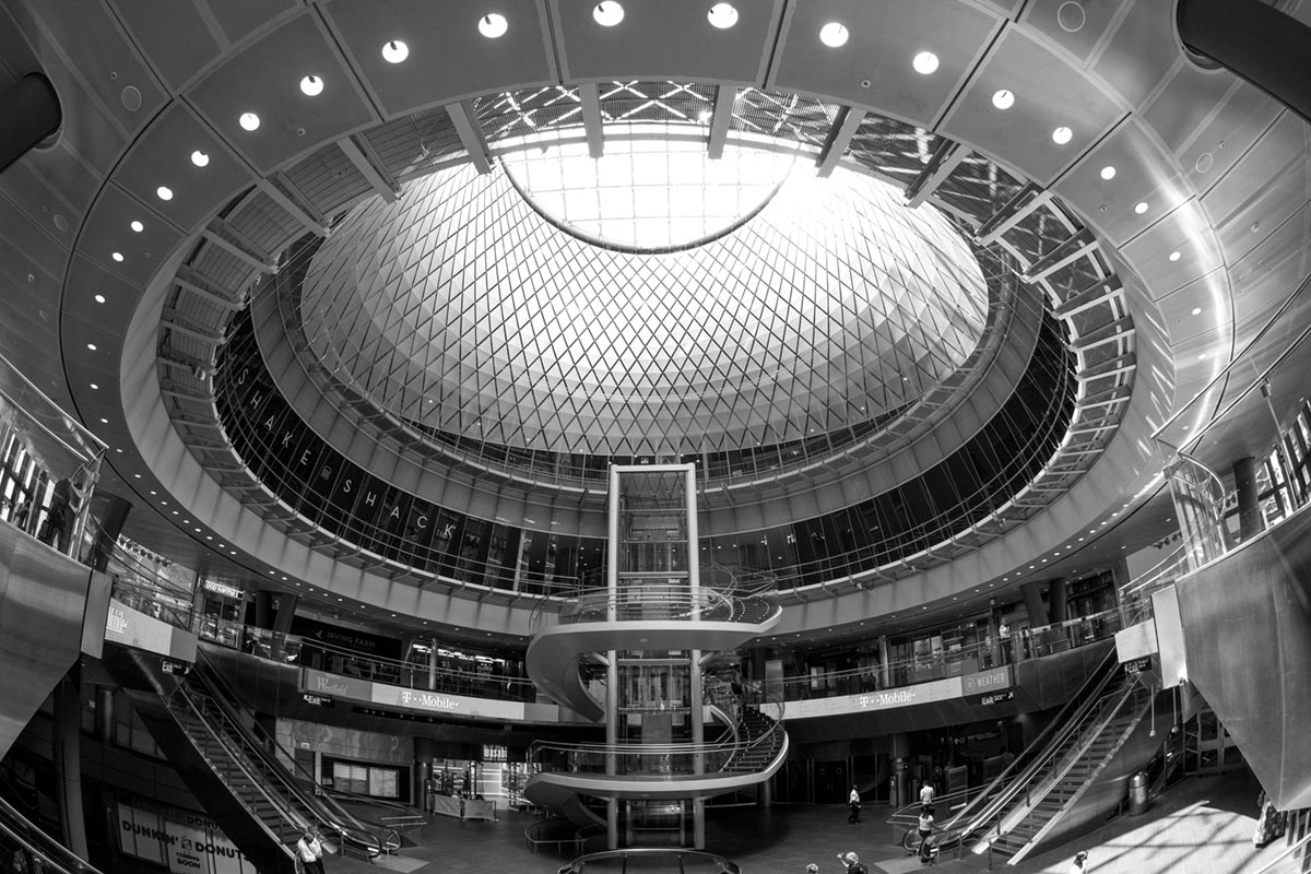 """Fulton Center"" at f/5.6 1/160 ISO400 @ 10mm."