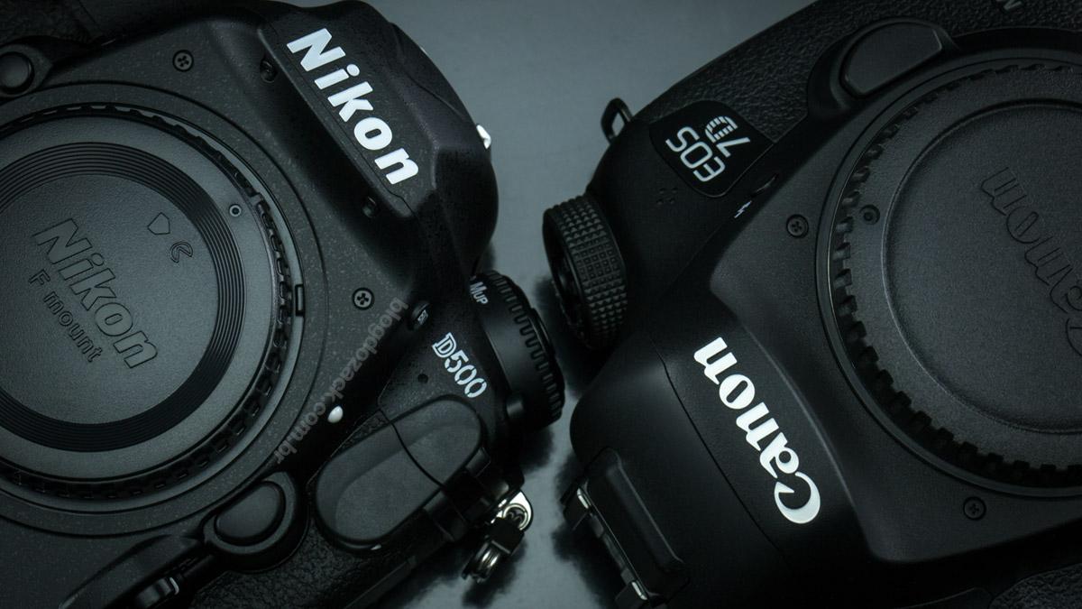 Nikon D500 Canon EOS 7D Mark II