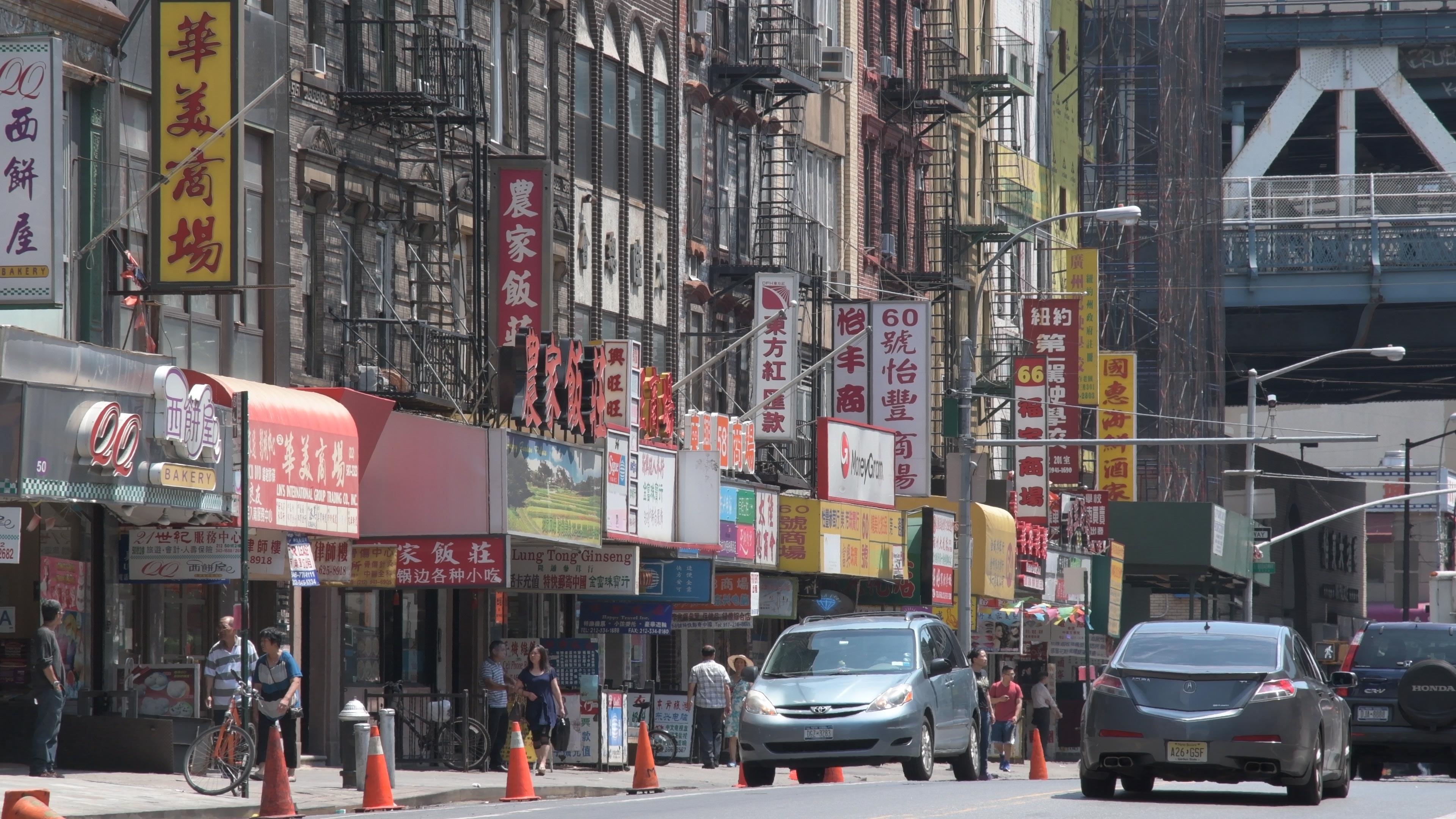"""""""Chinatown"""" em 2160P e perfil Flat, detalhes de sobra no 4K em ISOs baixos; clique para ver maior."""