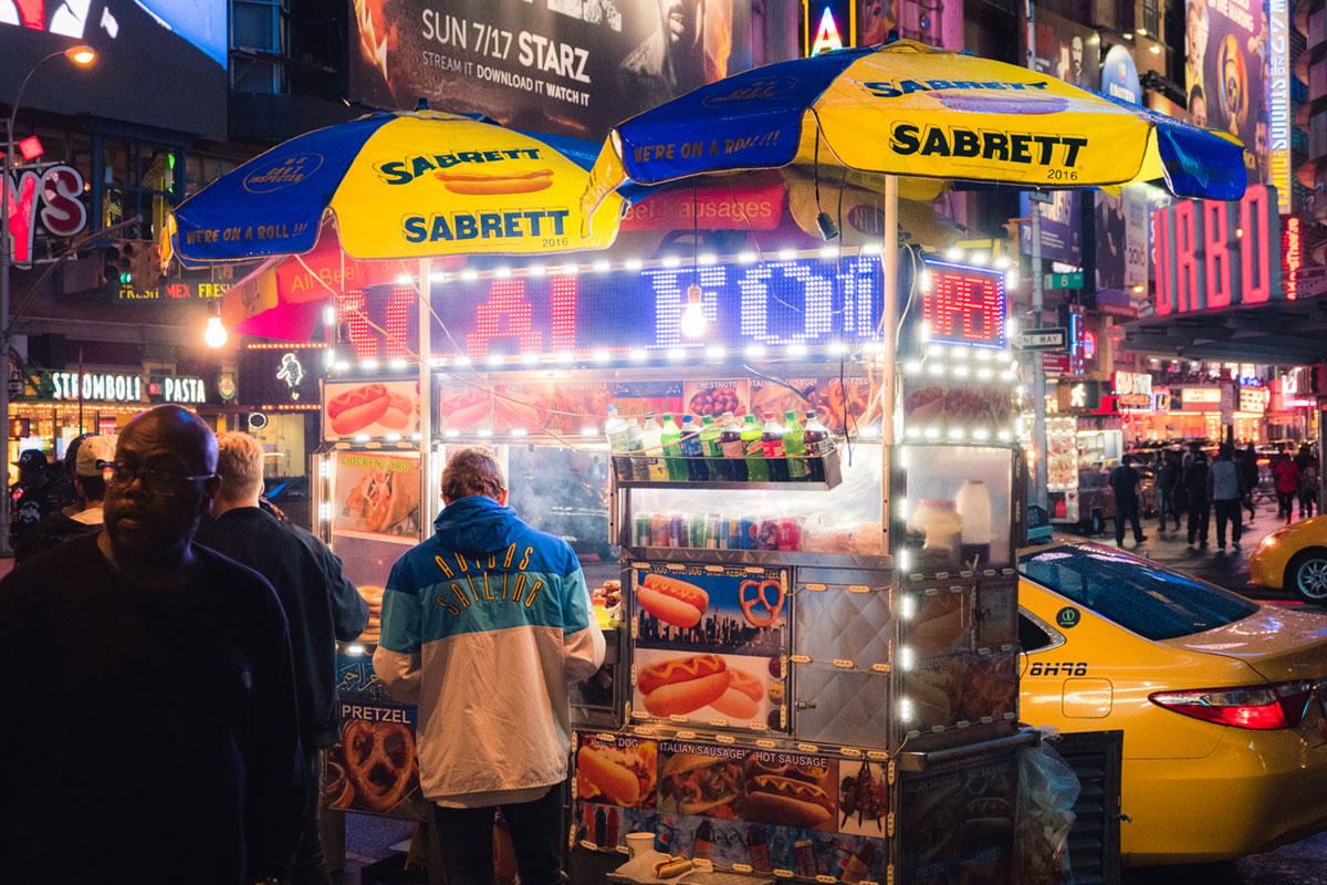 """""""Sabrett"""" em f/5.3 1/125 ISO5000 @ 38.7mm."""