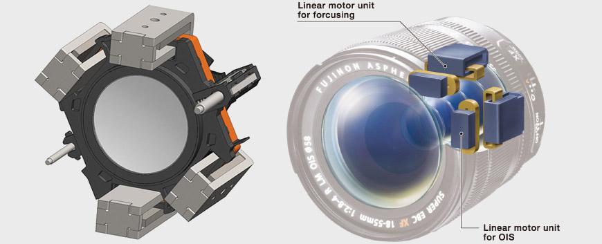 Fujifilm Linear Motor