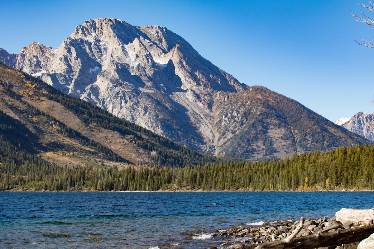 """""""Jenny Lake"""" at f/5.6 1/250 ISO100 @ 52mm."""