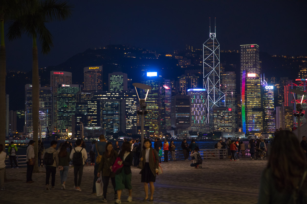 """Hong Kong"" with the EF 24-105mm f/4 L IS II USM at f/4 1/30 ISO2000 @ 76mm."