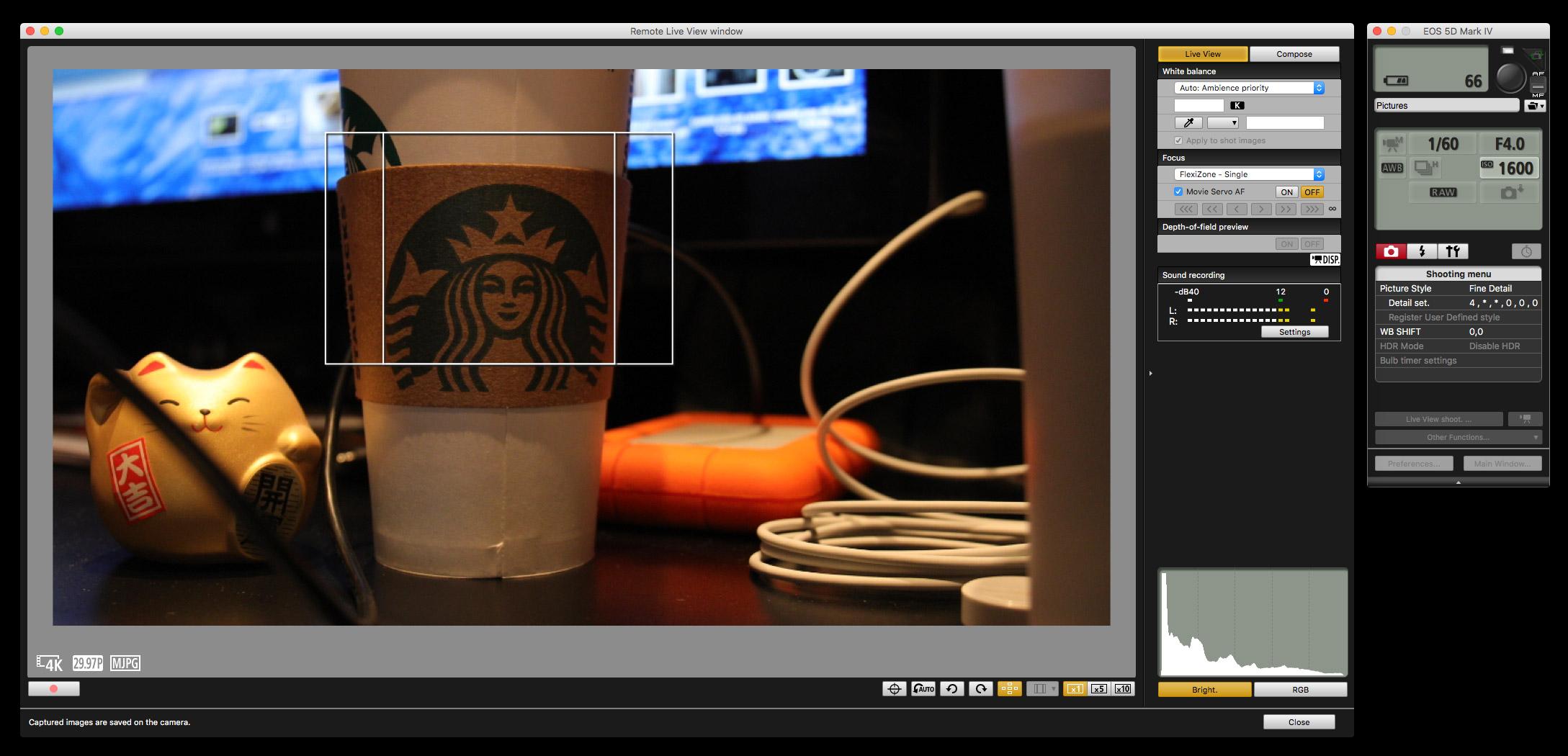 Canon EOS 5D Mark IV UTILITY 3.0