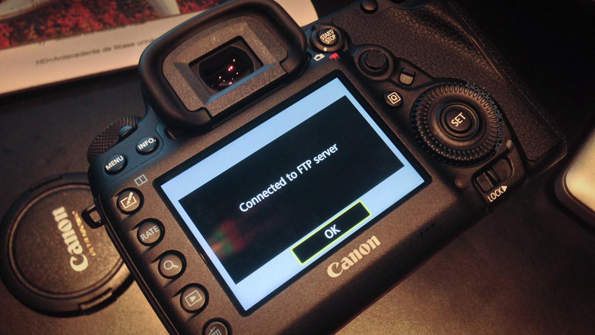 Canon EOS 5D Mark IV WI-FI FTP