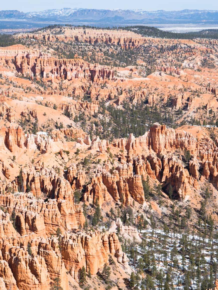 """""""Bryce Canyon"""" em f/6.3 1/640 ISO100; todas as fotos com a Sony A6500; arquivos raw disponíveis no Patreon."""