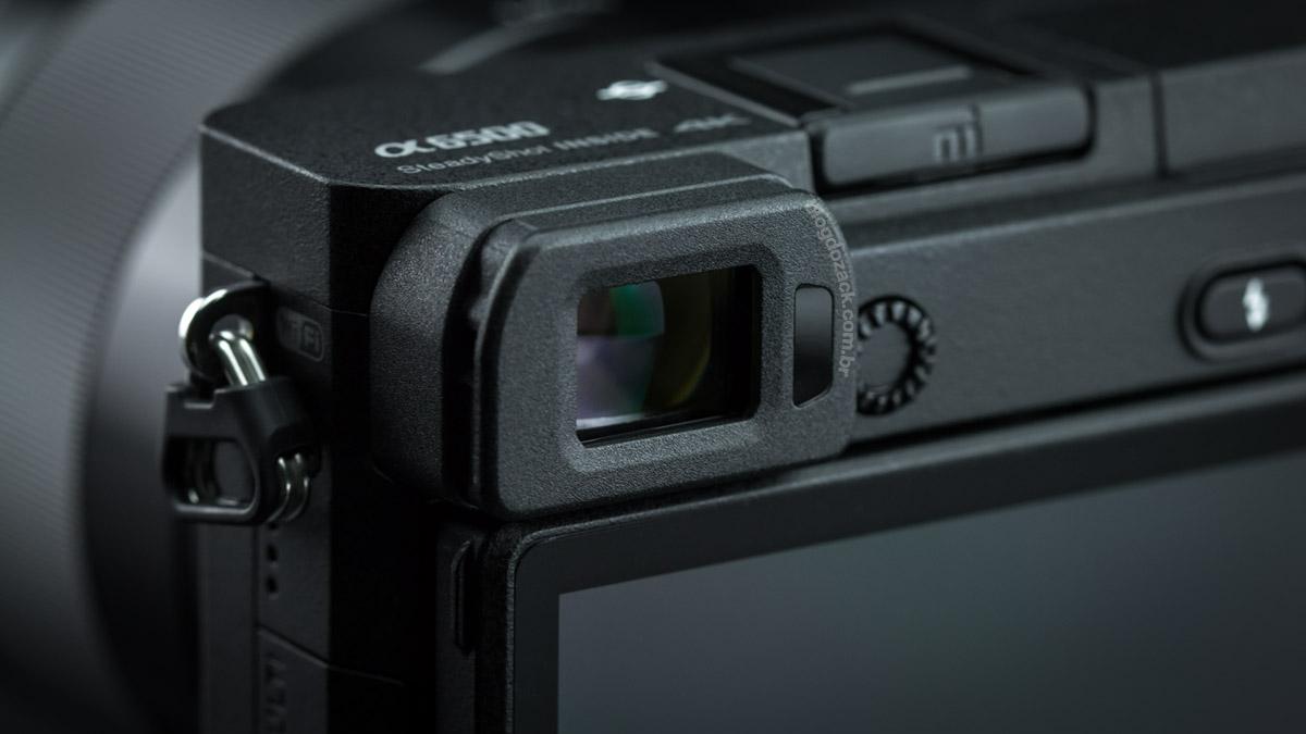 Sony A6500 EVF