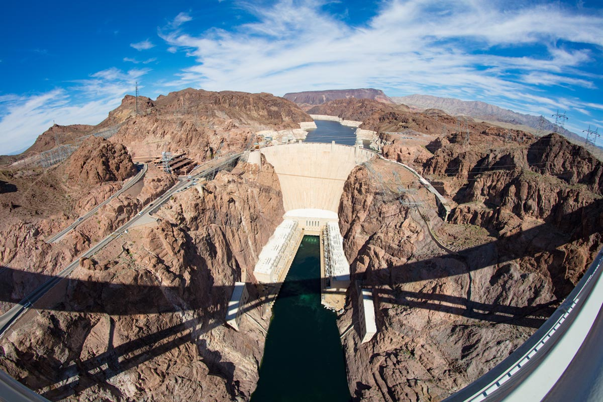 """""""Hoover Dam"""" em 1/400 ISO100."""
