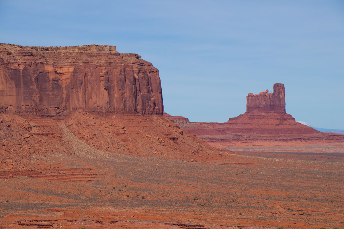 """Monument Valley"" com a EF-S 18-135mm f/3.5-5.6 IS USM em f/7.1 1/800 ISO100 @ 71mm."