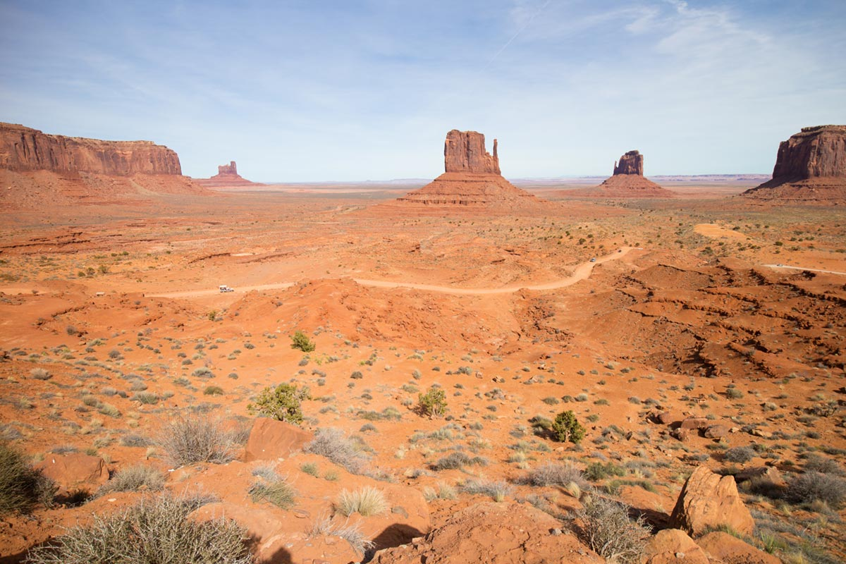 """Monument Valley"" em f/6.3 1/640 ISO100 @ 11mm."