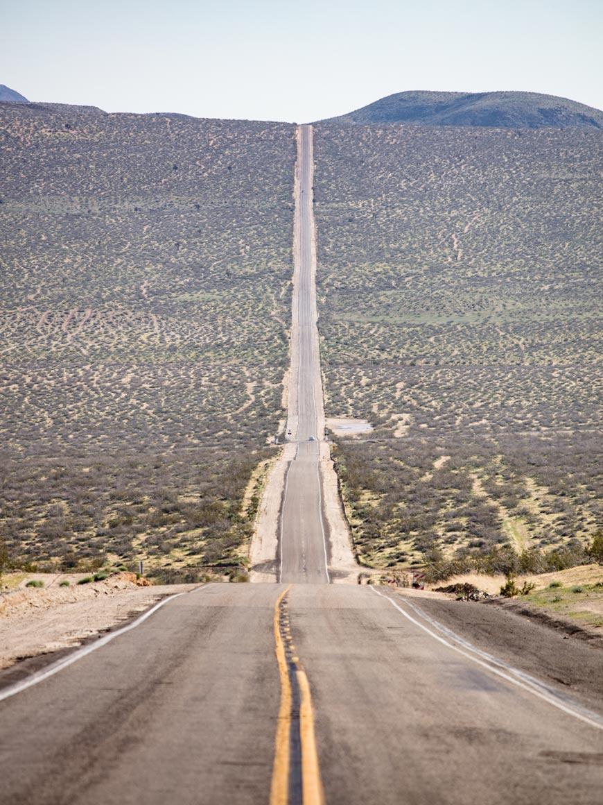 """""""Estrada"""" em f/7.1 1/400 ISO100 @ 300mm; sem sinais de distorção geométrica."""
