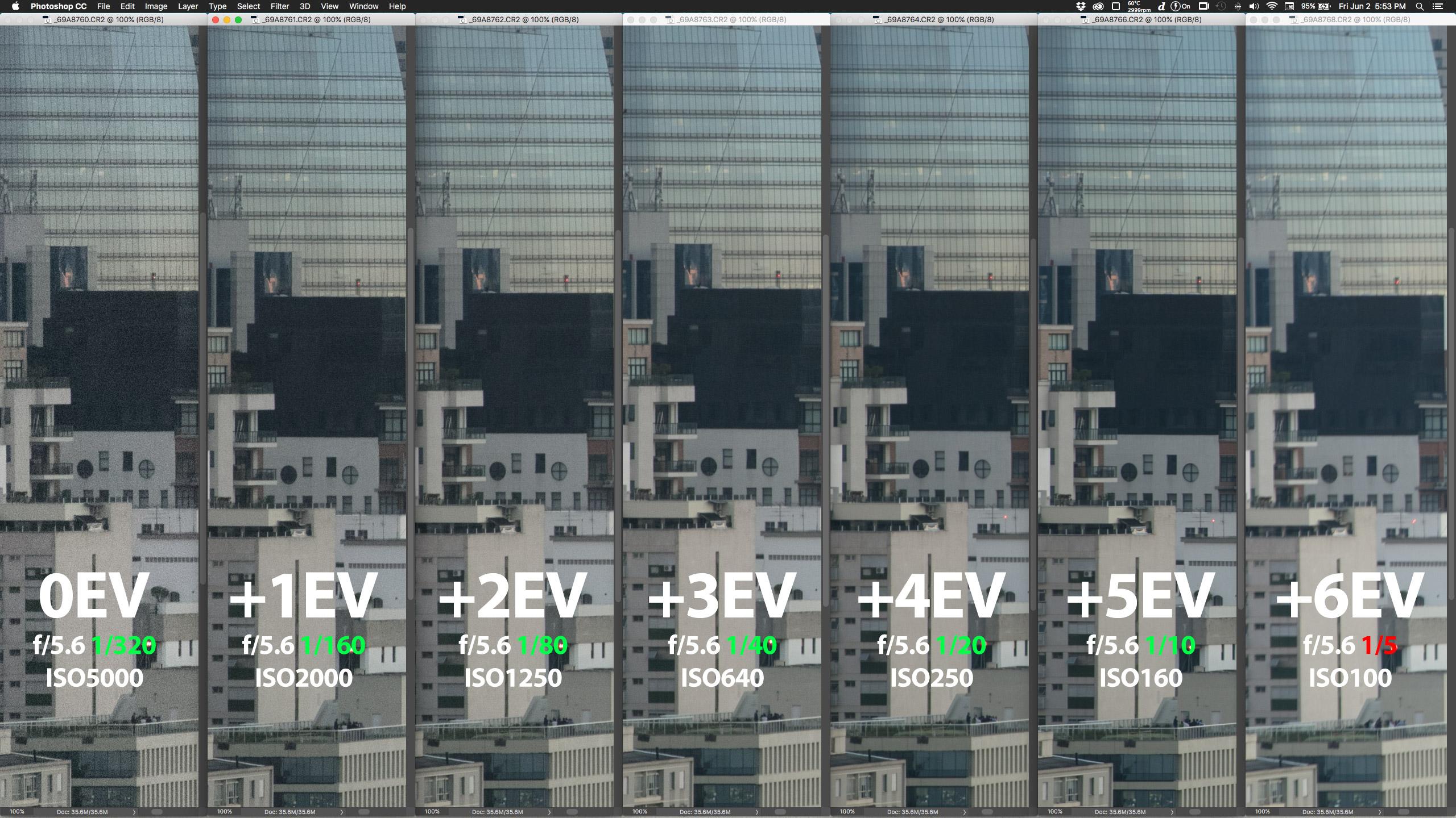 Crop 100%, o novo módulo de estabilização da 70-300 II ultrapassa facilmente os 4 stops, prometidos pela Canon. (clique para ver maior)
