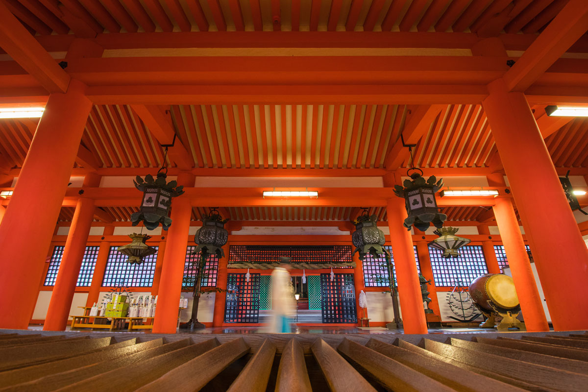 """Itsukushima Shrine"" with the EOS T7i + Tamron 10-24mm f/3.5-4.5 Di II VC HLD em 1/5 f/7.1 ISO400 @ 10mm."
