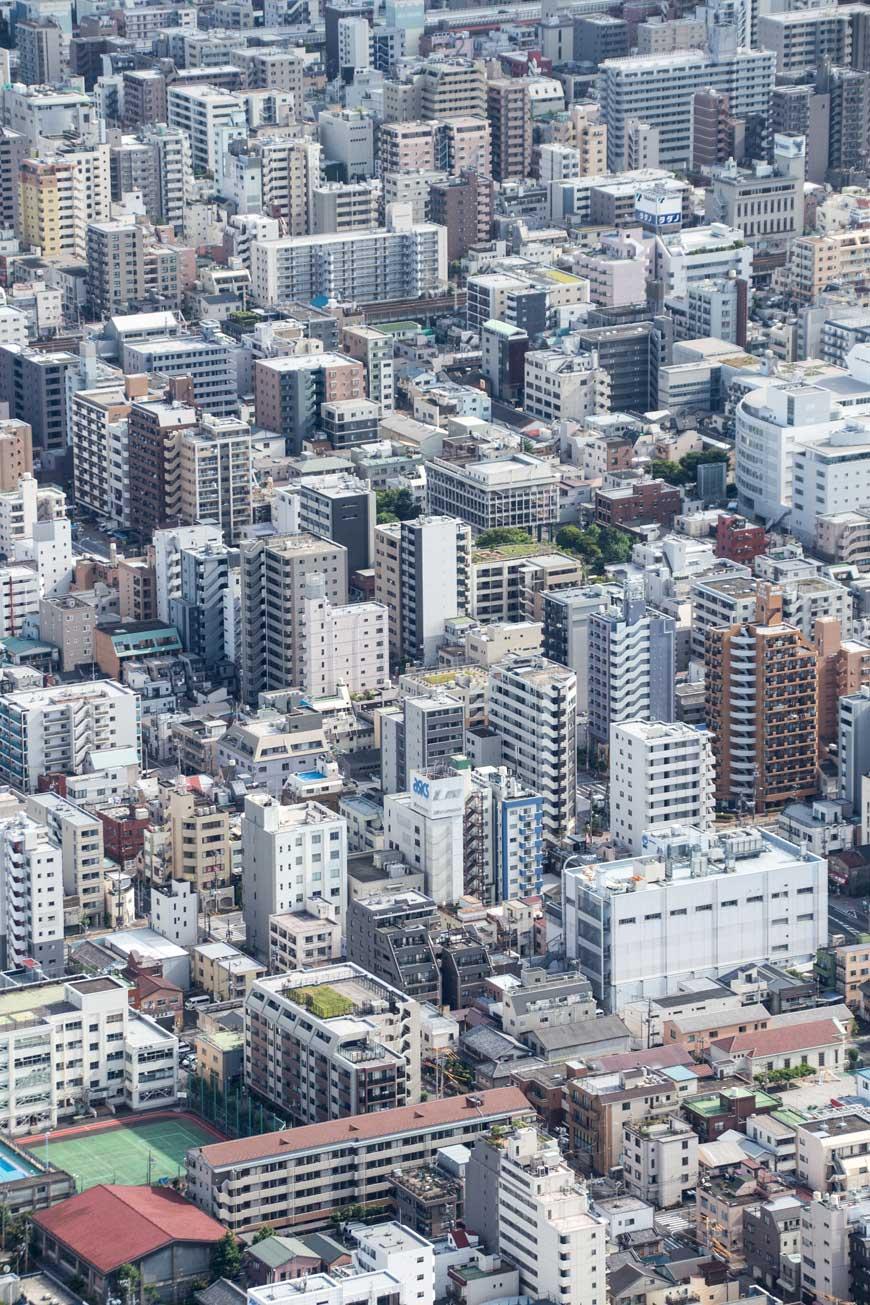 """""""Tokyo"""" em f/8 1/200 ISO100 @ 100mm; através do vidro do mirante."""