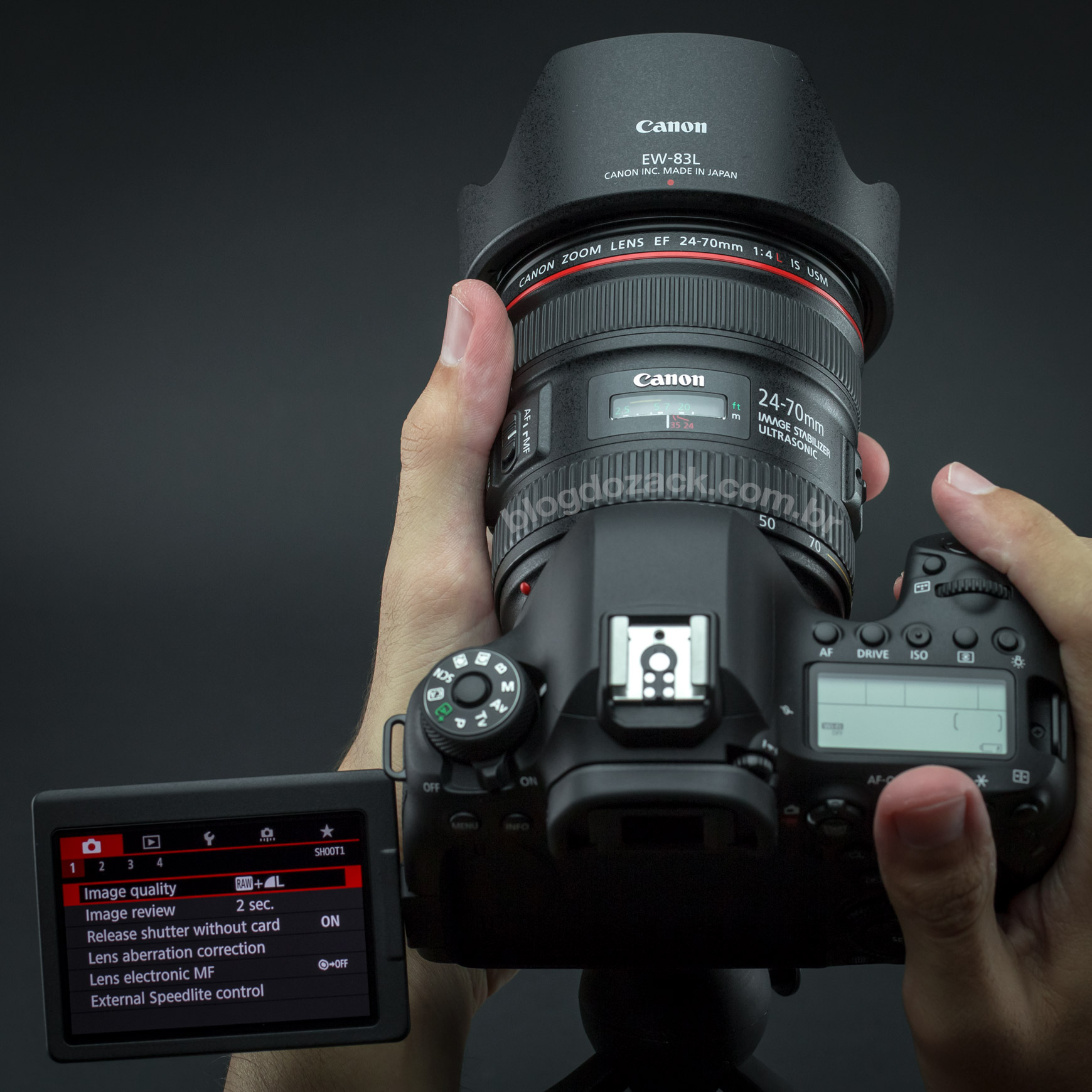 Canon EOS 6D Mark II HANDS