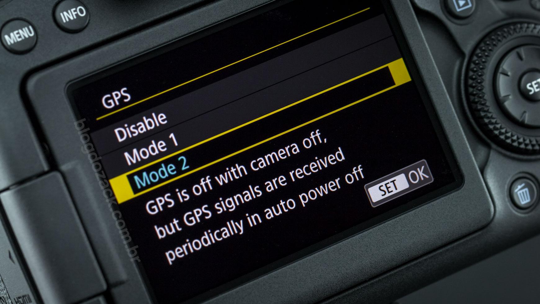 Canon EOS 6D Mark II GPS