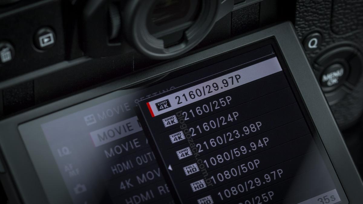 Fujifilm X-T20 4K